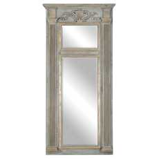 Uttermost Sella Stately Weathered Gray Mirror