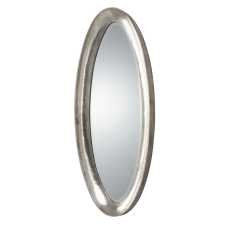 Uttermost Copparo Silver Oval Mirror