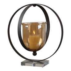 Uttermost Charon Metal Candleholder
