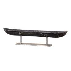 Uttermost River Boat Sculpture