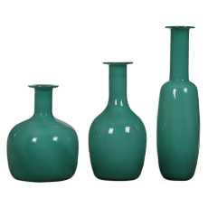 Uttermost Baram Turquoise Vases, S/3