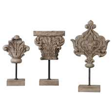 Uttermost Marta Wood Sculptures, S/3
