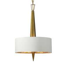 Uttermost Obeliska 3 Light Gold Chandelier