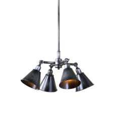 Uttermost Fumant 4 Light Industrial Pendant