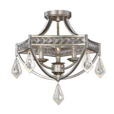 Uttermost Tamworth Modern 3 Light Semi Flush