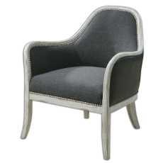 Uttermost Dayla Indigo Accent Chair