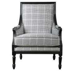 Uttermost Scott Wood Frame Armchair