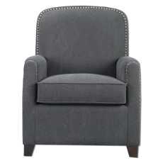 Uttermost Domicia Gray Armchair