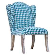 Uttermost Winesett Blue Armless Chair