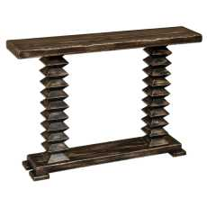 Uttermost Ridge Wooden Console Table
