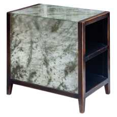 Uttermost Tierney Antique Mirror End Table