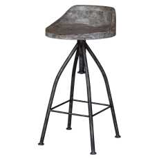 Uttermost Kairu Wooden Bar Stool