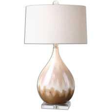 Uttermost Flavian Glazed Ceramic Lamp