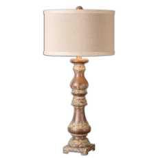 Uttermost Montoro Dark Pecan Lamp