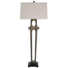 Uttermost Daugava Rust Brown Floor Lamp