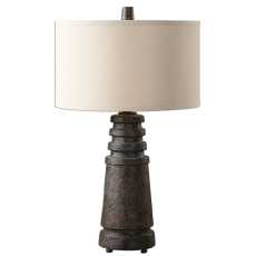 Uttermost Topeka Distressed Rust Lamp
