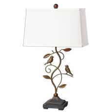 Uttermost Leta Forged Metal Lamp