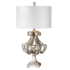 Uttermost Vinadio Distressed Silver Table Lamp