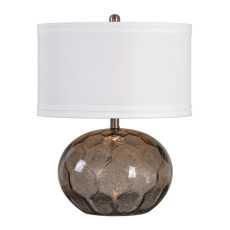 Uttermost Jasperse Amber Glass Lamp