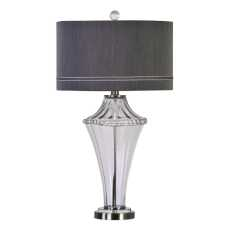 Uttermost Gironde Fluted Glass Table Lamp