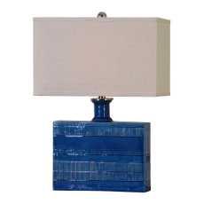 Uttermost Piota Blue Table Lamp