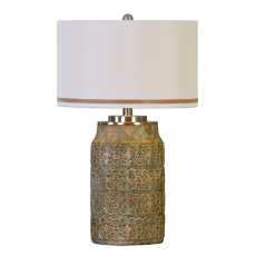 Uttermost Ceronda Mushroom Gray Table Lamp