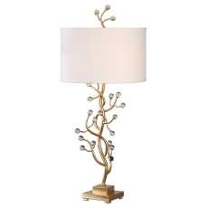 Uttermost Bede Metallic Gold Table Lamp