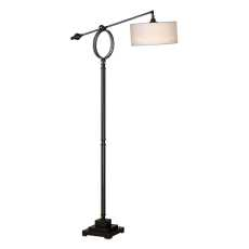 Uttermost Levisa Brushed Bronze Floor Lamp