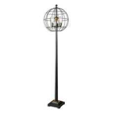 Uttermost Palla Round Cage Floor Lamp