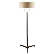 Uttermost Levice Rust Black Floor Lamp