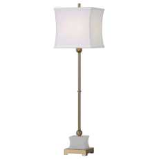 Uttermost Liano Brushed Brass Buffet Lamp