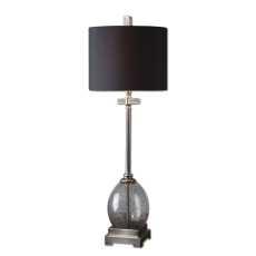 Uttermost Denia Gray Glass Table Lamp
