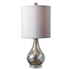 Uttermost Girona Mercury Glass Table Lamp