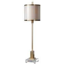 Uttermost Villena Brass Buffet Lamp
