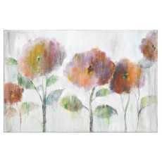 Uttermost Flowers Of The Rainbow Canvas Art
