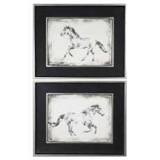 Uttermost Equine Study Prints S/2