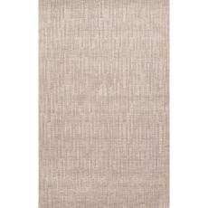 Solids Braided Pattern Gray Wool Area Rug (9X12)