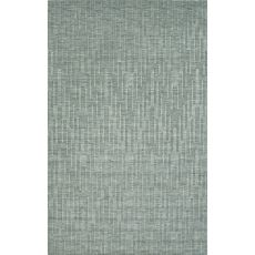 Solids Abstract Pattern Green/Blue Wool Area Rug (8X11)