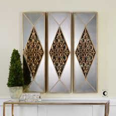 Uttermost Serrano Mirrored Wall Art