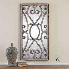 Uttermost Rosalind Carved Wooden Frame Mirror