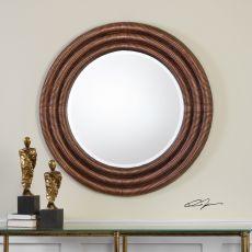 Uttermost Helical Round Copper Mirror