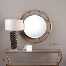 Uttermost Salleron Round Mirror