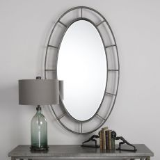 Uttermost Gilliam Oval Mirror
