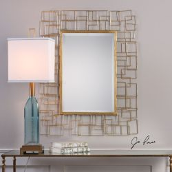 Asner Modern Gold Mirror