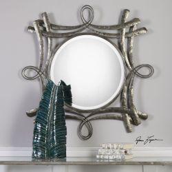 Olivieri Aged Bronze Mirror