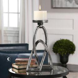 Rica Cast Iron Candleholder
