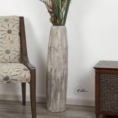 Uttermost Antonio Aged Ivory Floor Vase