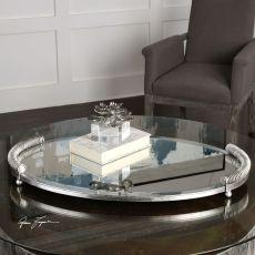 Uttermost Egidio Mirrored Oval Tray