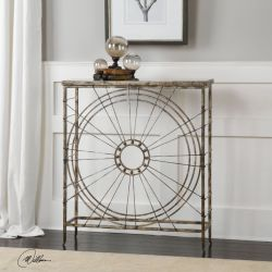 Sweeney Iron Console Table