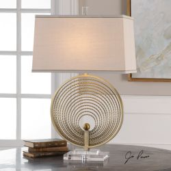 Petrelli Iron Ring Table Lamp
